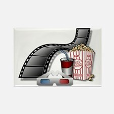 3D Movie Cinema Magnets