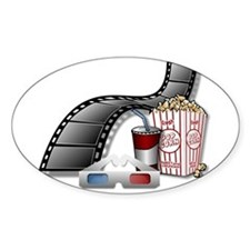 3D Movie Cinema Decal