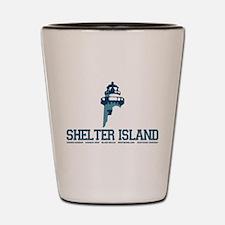 The Hamptons - Long Island. Shot Glass