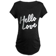 HELLO LOVE Maternity T-Shirt