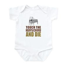 Toch/Die Harpsichord Infant Bodysuit