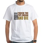 Touch/Die Organ White T-Shirt