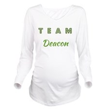 TEAM DEACON Long Sleeve Maternity T-Shirt