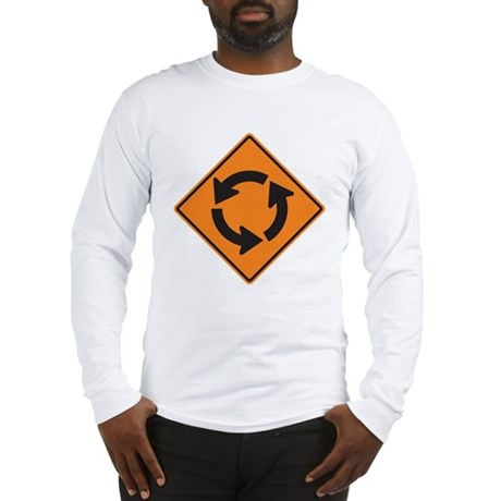Traffic Circle Long Sleeve T-Shirt