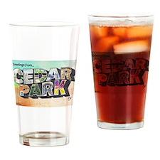 Cedar Park Drinking Glass