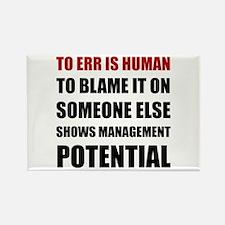 Management Potential Magnets