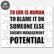 Management Potential Puzzle