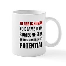 Management Potential Mugs