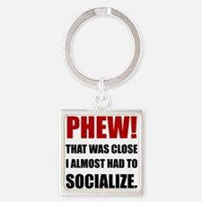 Phew Socialize Keychains