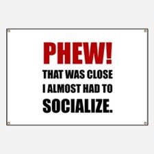 Phew Socialize Banner