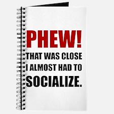 Phew Socialize Journal