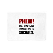 Phew Socialize 5'x7'Area Rug