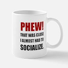 Phew Socialize Mugs