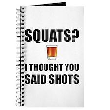 Squats Shots Journal