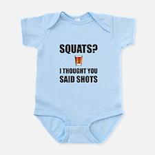 Squats Shots Body Suit