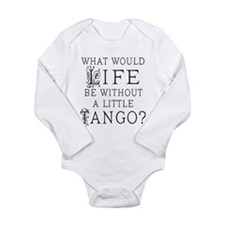Cute Tango dance Long Sleeve Infant Bodysuit
