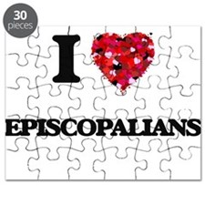 I love EPISCOPALIANS Puzzle