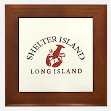 The Hamptons - Long Island. Framed Tile