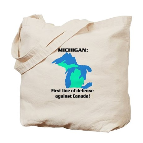 Michigan first line of defense against Canada Tote