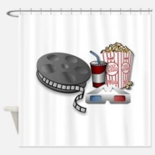 3D Cinema Shower Curtain