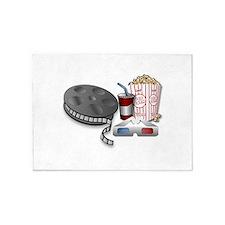 3D Cinema 5'x7'Area Rug