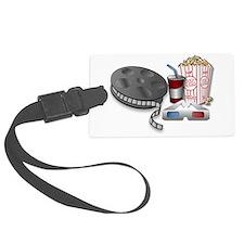 3D Cinema Luggage Tag