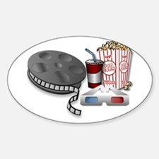 3D Cinema Decal