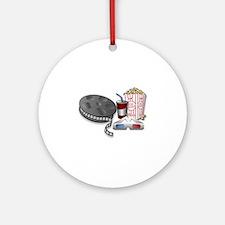 3D Cinema Ornament (Round)