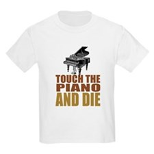 Touch/Die Piano T-Shirt