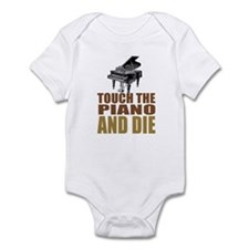 Touch/Die Piano Infant Bodysuit