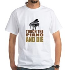 Touch/Die Piano Shirt