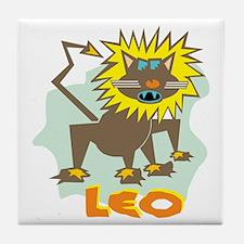 Leo Tile Coaster