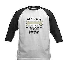 Worlds Best Parson Russell Terrier Baseball Jersey