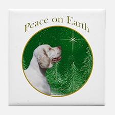 Clumber Peace Tile Coaster