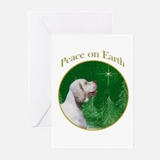 Clumber Peace Greeting Cards (Pk of 10)