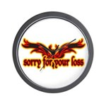 Motorcycle sympathy Wall Clock