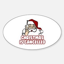 Christmas is Cancelled Decal