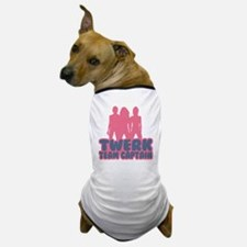 Twerk Team Captain Dog T-Shirt