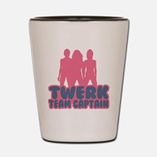 Twerk Team Captain Shot Glass