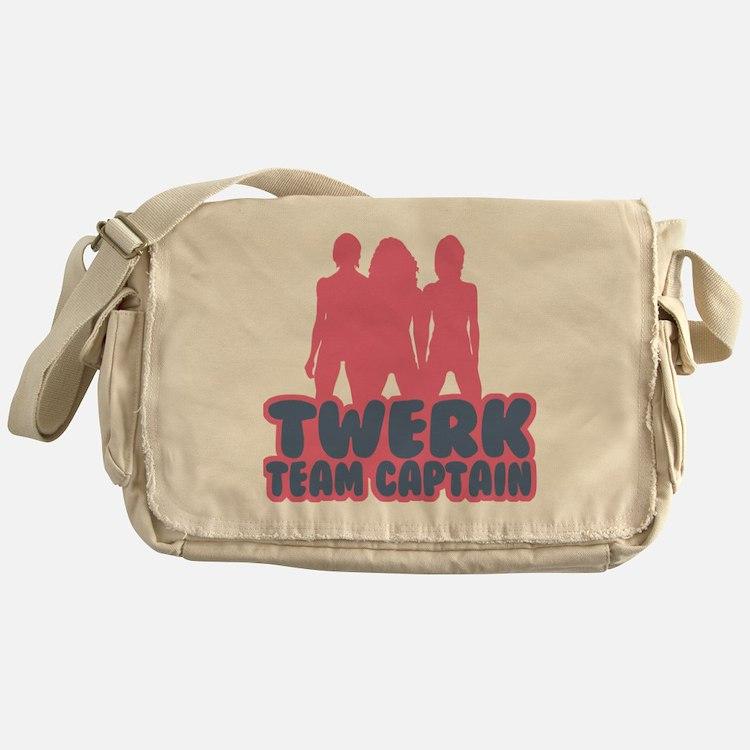 Twerk Team Captain Messenger Bag