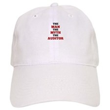 The Man The Myth The Auditor Baseball Baseball Cap