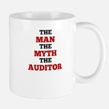 The Man The Myth The Auditor Mugs