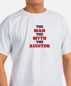 The Man The Myth The Auditor T-Shirt
