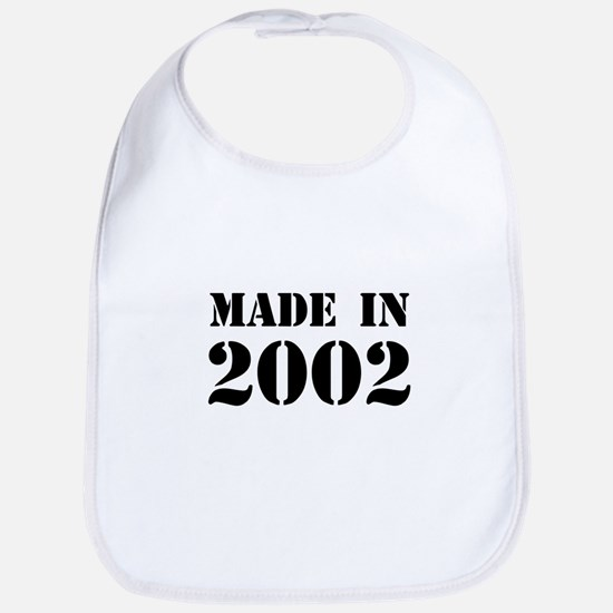 Made in 2002 Bib