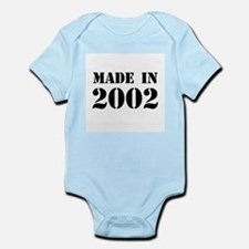 Made in 2002 Body Suit