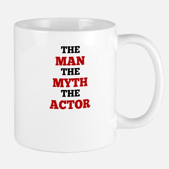 The Man The Myth The Actor Mugs
