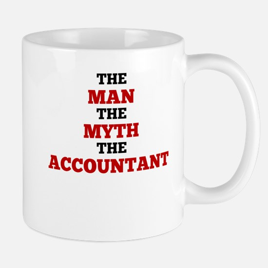 The Man The Myth The Accountant Mugs