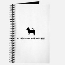 My cat can kick your dog's as Journal