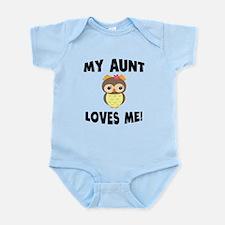 My Aunt Loves Me Owl Body Suit