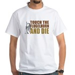 Touch/Die Flugel White T-Shirt